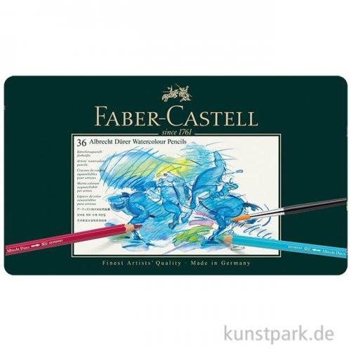 Faber-Castell ALBRECHT DÜRER, 36 Aquarellstifte im Metalletui