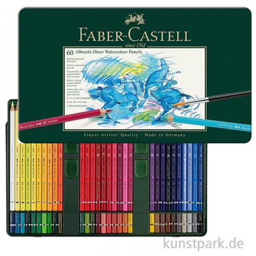 Faber-Castell ALBRECHT DÜRER, 60 Aquarellstifte im Metalletui