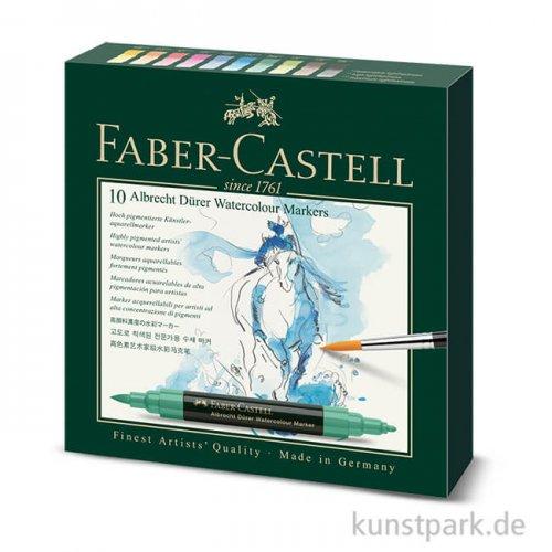 Faber-Castell ALBRECHT DÜRER, 10 Aquarellmarker im Etui