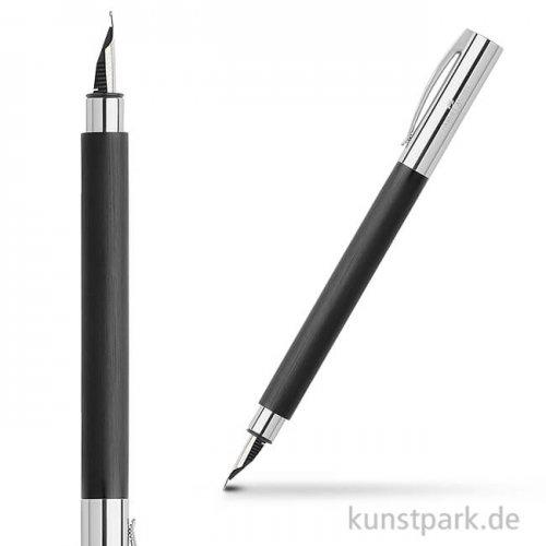 Faber-Castell AMBITION Füllhalter Edelharz schwarz