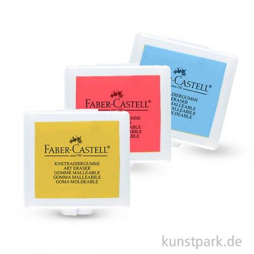 Faber-Castell ART ERASER Knetgummi - farblich sortiert