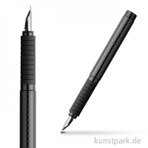 Faber-Castell BASIC Füllhalter Black Carbon