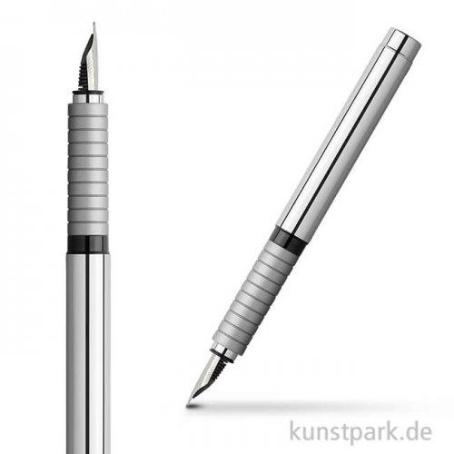 Faber-Castell BASIC Füllhalter Metall - glänzend