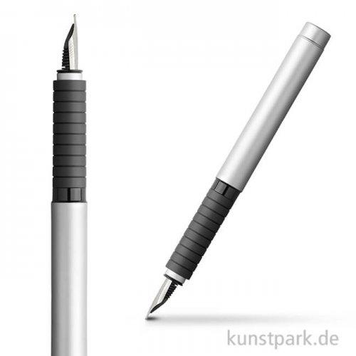 Faber-Castell BASIC Füllhalter Metall - matt