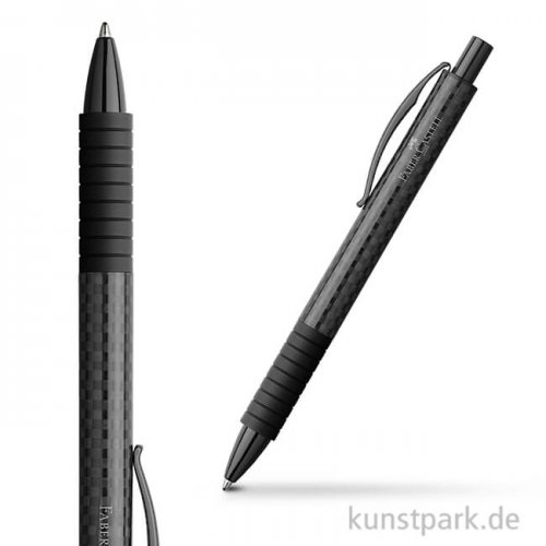 Faber-Castell BASIC Kugelschreiber Black Carbon