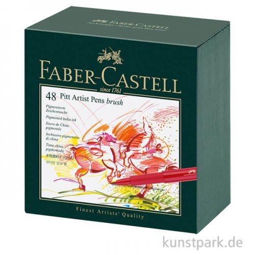 Faber-Castell PITT Artist Pen Brush - 48er Komplett Set