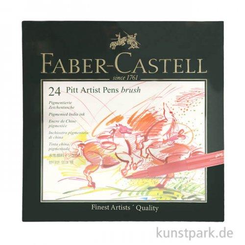 Faber-Castell pen BRUSH - 24er Atelierbox