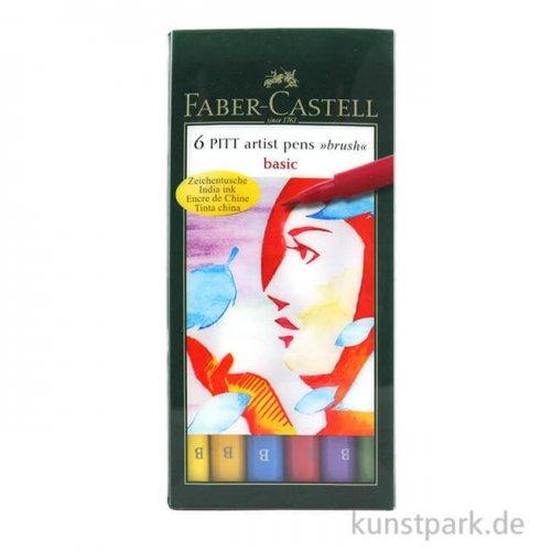 Faber-Castell pen BRUSH - 6er-Set BASIC