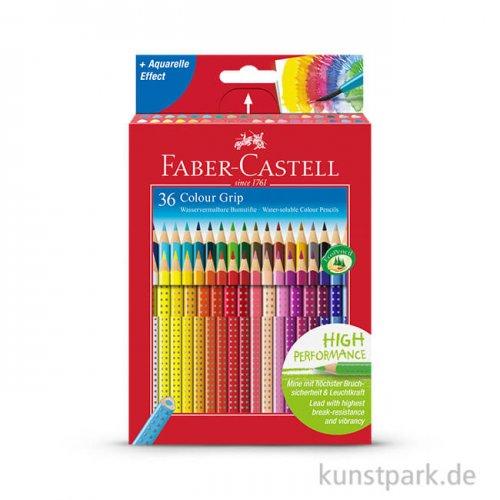Faber-Castell COLOUR GRIP, 36 Buntstifte im Kartonetui