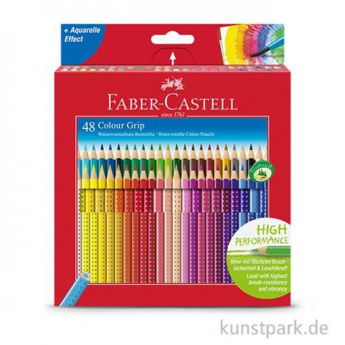 Faber-Castell Buntstift COLOUR GRIP - 48er Kartonetui