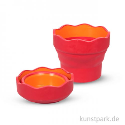 Faber-Castell CLIC&GO Wasserbecher Rot