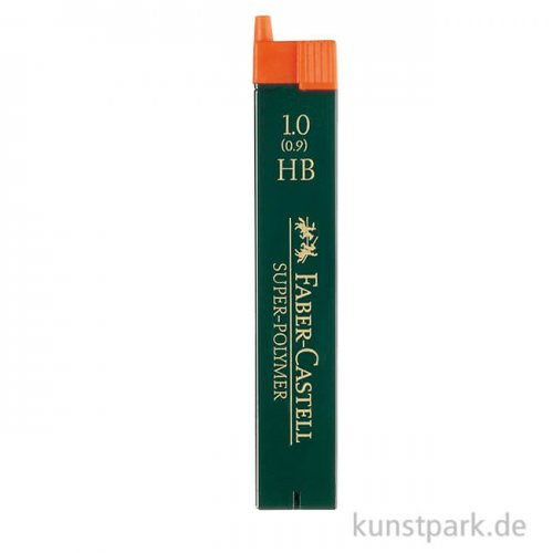 Faber-Castell Ersatzminen TK-Fine 1,0 mm, Härte HB, 12 Stück
