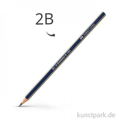 Faber-Castell GOLDFABER 1221 Bleistift 2B