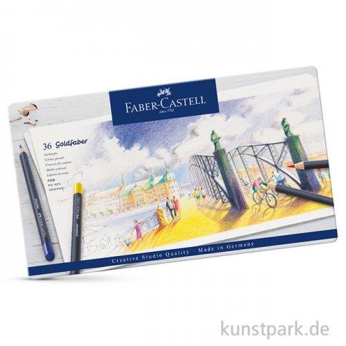Faber-Castell GOLDFABER, 36 Farbstifte im Metalletui