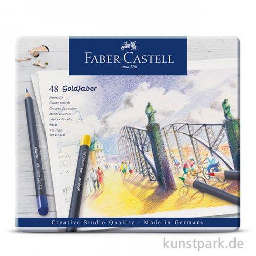 Faber-Castell GOLDFABER, 48 Farbstifte im Metalletui