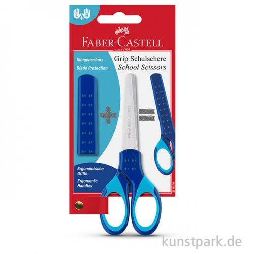 Faber-Castell GRIP, Schulschere Blau