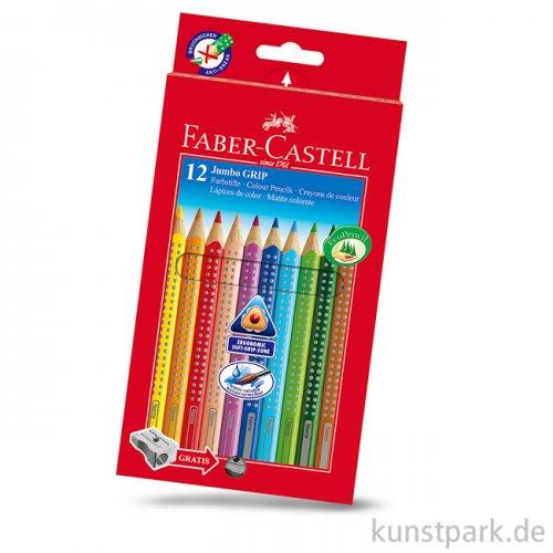 Faber-Castell JUMBO Grip 12er Kartonetui mit Spitzer
