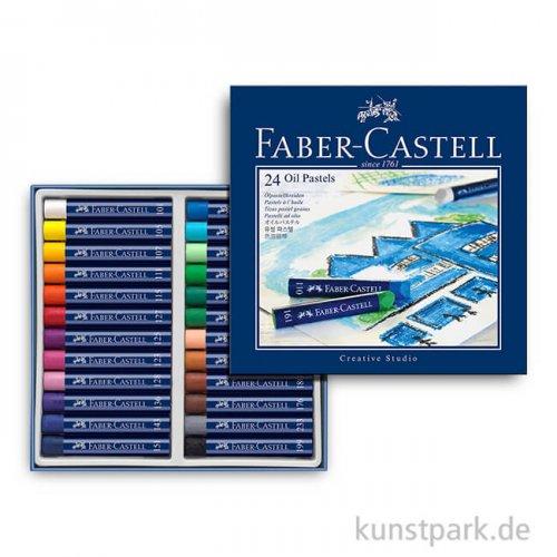 Fabe- Castell Ölpastellkreiden - 24er Studio-Set