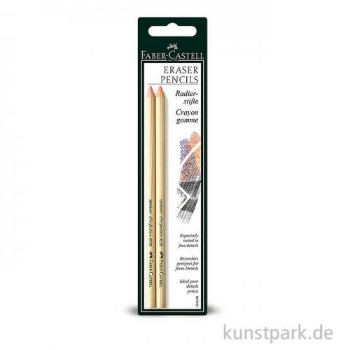 Faber-Castell PERFECTION Radierstift 2 Stück im Set