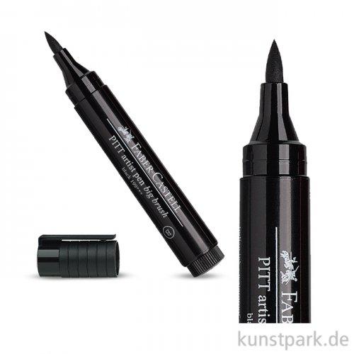 Faber-Castell PITT Artist Pen BIG BRUSH Tuschestift - Schwarz