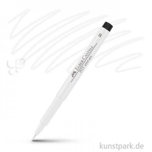 Faber-Castell PITT Artist Pen Brush einzeln Stift | 101 Weiß