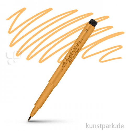Faber-Castell PITT Artist Pen Brush einzeln Stift | 113 Lasurorange