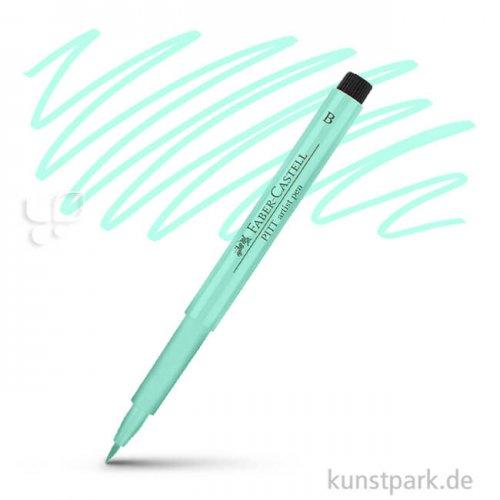 Faber-Castell PITT Artist Pen Brush einzeln Stift | 154 Kobalttürkis hell