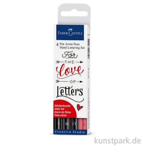 Faber-Castell PITT Artist Pen Handlettering 4er Set
