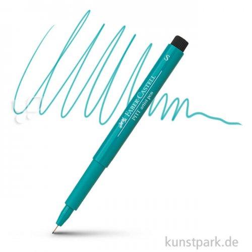 Faber-Castell PITT Artist Pen S einzeln Stift | 156 Kobaltgrün