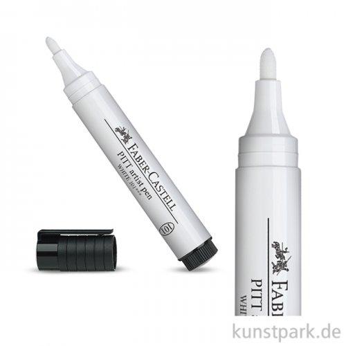 Faber-Castell PITT Artist Pen Tuschestift - Weiß