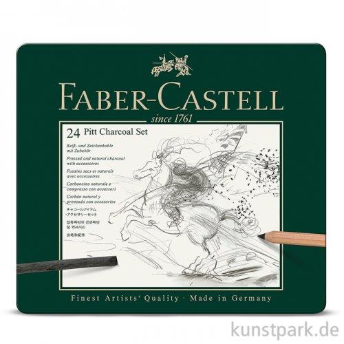 Faber-Castell PITT Charcoal Set - 24teilig