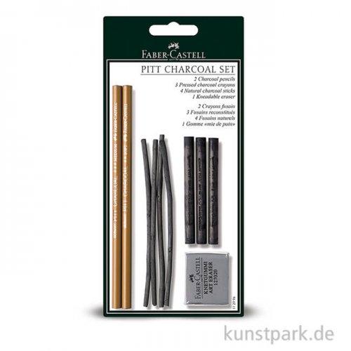 Faber-Castell PITT Charcoal Set inkl. Zubehör