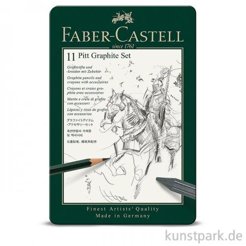 Faber-Castell PITT Graphite Set klein - 11teilig