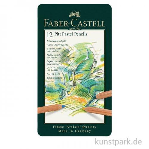 Faber-Castell PITT Pastell - 12er Metalletui