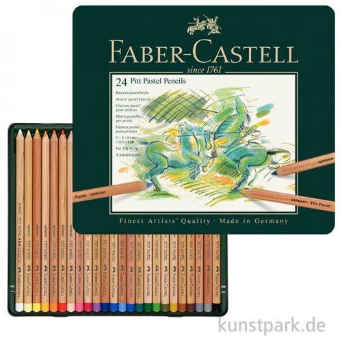 Faber-Castell PITT Pastell - 24er Metalletui