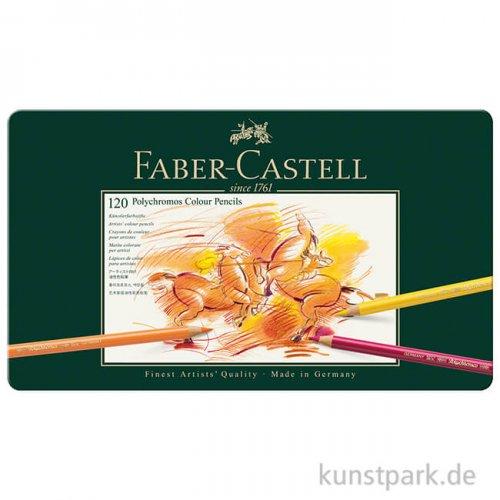 Faber-Castell Polychromos - 120er Set im Blechetui