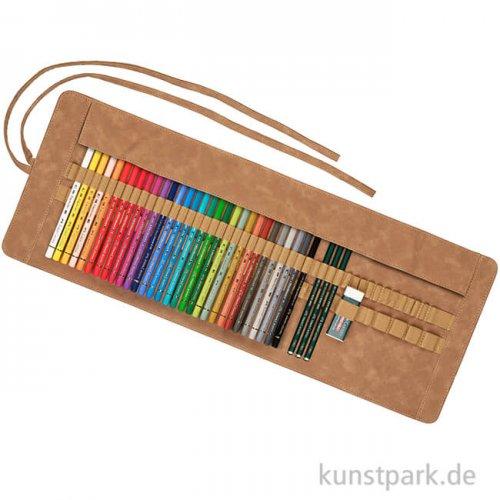 Faber-Castell POLYCHROMOS, 30 Stifte mit Stifterolle