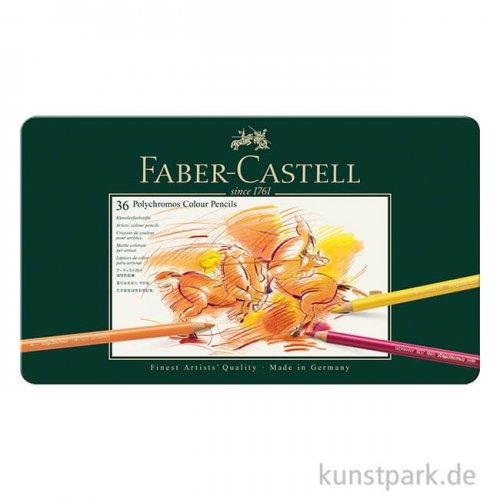 Faber-Castell Polychromos - 36er Set im Blechetui