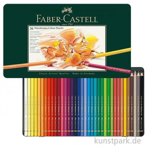 Faber-Castell POLYCHROMOS, 36 Stifte im Metalletui