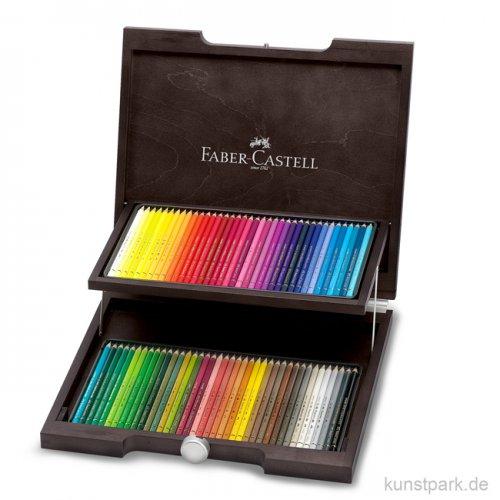 Faber-Castell POLYCHROMOS, 72 Stifte im Holzkoffer
