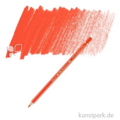 Faber-Castell POLYCHROMOS einzeln Stift | 121 Geraniumrot hell