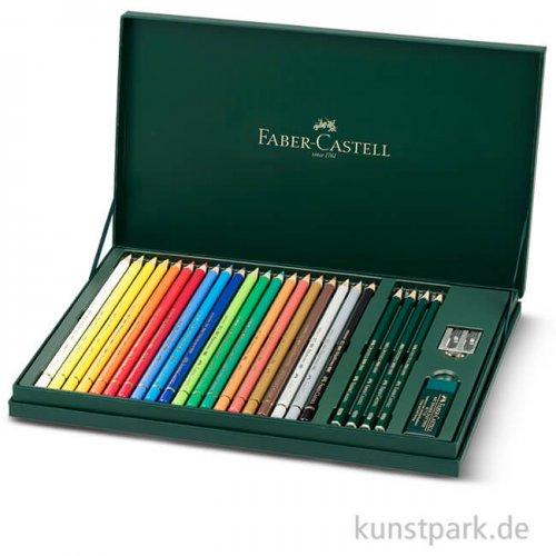 Faber-Castell POLYCHROMOS Geschenkset inklusive Zubehör