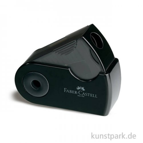 Faber-Castell SLEEVE Mini Klappspitzdose, schwarz