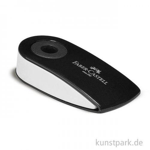 Faber-Castell SLEEVE Radierer Mini schwarz