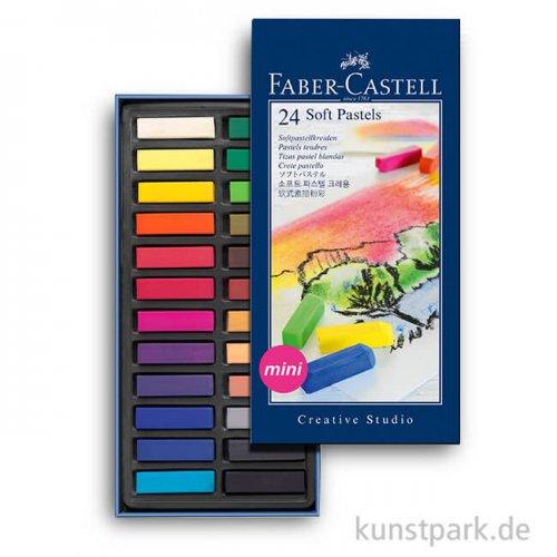 Faber-Castell Softpastellkreiden Mini - 24er Studio-Set