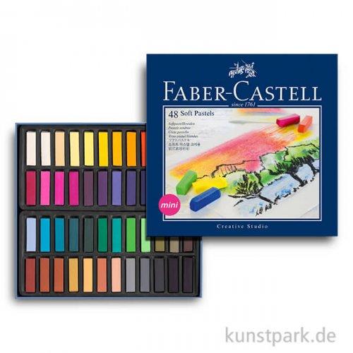 Faber-Castell Softpastellkreiden Mini - 48er Studio-Set