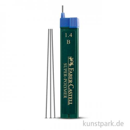 Faber-Castell Ersatzminen TK-Fine 1,4 mm, Härte B, 6 Stück