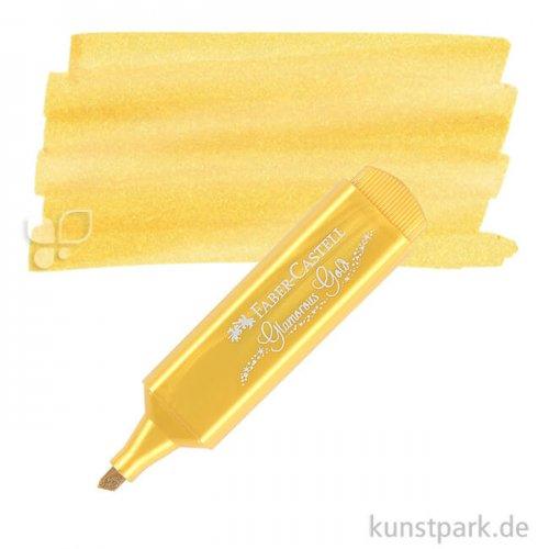 Faber-Castell Textliner Metallic einzeln Marker | Gold