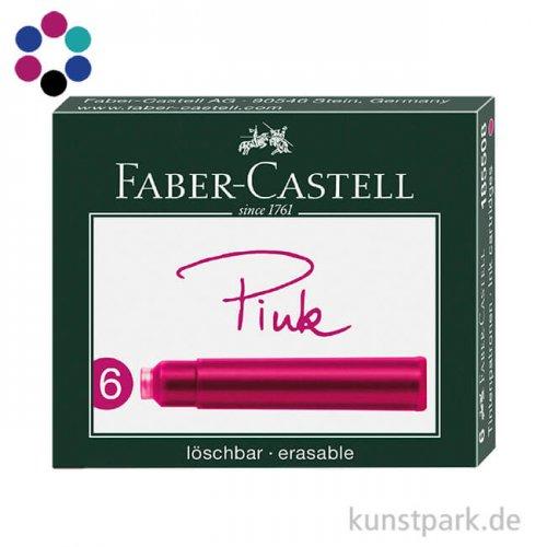 Faber-Castell Tintenpatronen Standard 6 Stück