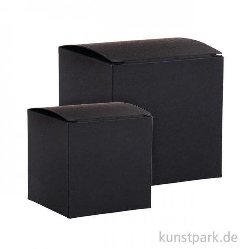 Faltschachtel Set - Schwarz